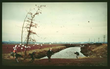A Sudden Gust of Wind (after Hokusai) 1993 by Jeff Wall born 1946